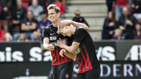 FC Midtjylland er kun to kampe fra millionerne
