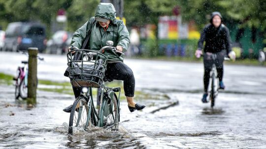 Sådan har vejret set ud for de fleste danskere denne sommer.