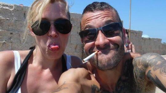 Darren Stanway og hans frue har det tilsyneladende morsomt på deres ferier.