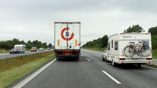 Det behøver ikke øge risikoen for ulykker, når man hæver hastighedsbegrænsningerne, mener FDM. Scanpix/Erik Luntang