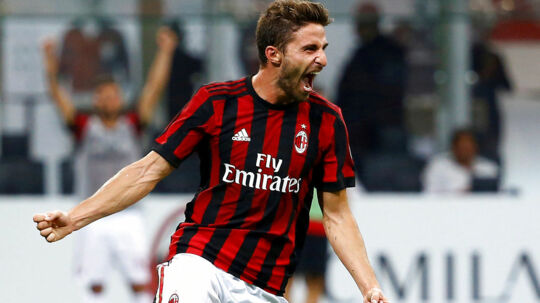 Fabio Borini er blot et af mange nye navne i Milan.
