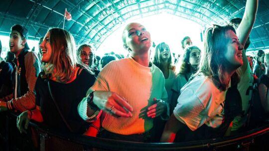 Publikum til Sean Paul-koncert på festivallen Lowlands fredag den 18. august 2017.