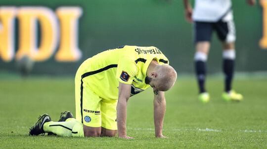Esbjerg tabte sin anden kamp i træk i 1. division. Scanpix/Henning Bagger/arkivfoto
