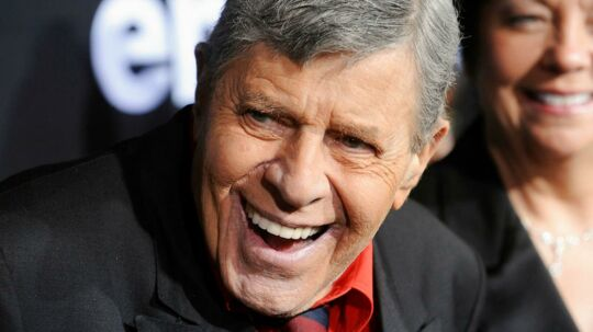 Her ses Jerry Lewis. REUTERS/Phil McCarten/File Photo