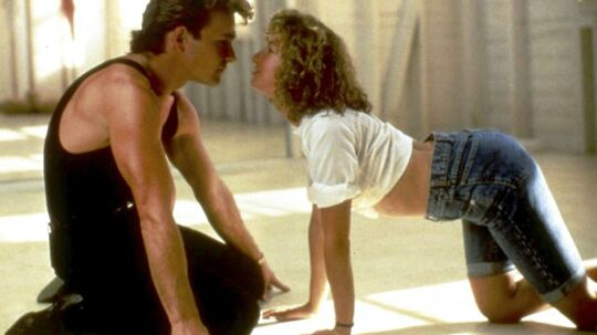 Patrick Swayze og Jennifer Grey i filmen 'Dirty Dancing'.