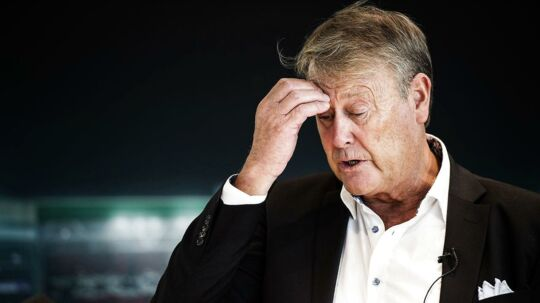 Åge Hareide (bill.): »Nicklas Bendtner skal være klart bedre end de andre alternativer, jeg har, for at kunne komme med. I øjeblikket vurderer jeg de andre til at være bedre end Bendtner.«