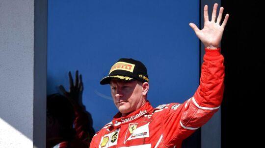 Op med hånden - hvem har fået et år mere i Formel 1?