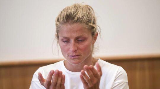 En grådkvalt Therese Johaug kaldte dopingdommen på 18 måneder for uretfærdig.