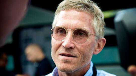 Brian Holm (bill.) glæder sig over, at det er lykkedes at hyre Michael Mørkøv til næste år.