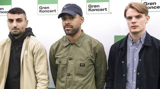 Ukendt Kunstner her sammen med S!vas da de spillede sammen på Grøn Koncert.
