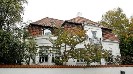 Ryvangskvarteret, Østerbro. Her ses villaen på Svanemøllevej, som ind til 2016 var beboet af grevinde Alexandra, prins Nikolai og prins Felix.