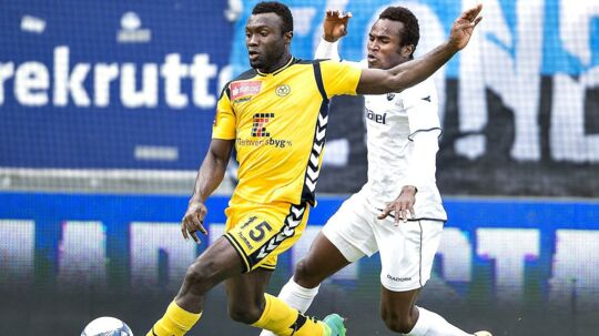 Horsens' Bubacarr Sanneh kunne være skiftet til FC Midtjylland, men kunne ikke blive enig med klubben om en kontrakt.