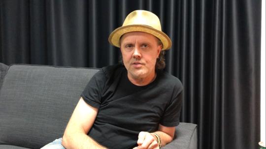 Metallicas danske trommeslager, Lars Ulrich.