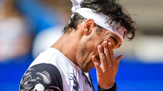 Doh! Fabio Fognini har dummet sig godt og grundigt i US Open.