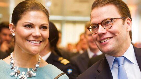 ARKIVFOTO af den svenske kronprinsesse Victoria og hendes mand, prins Daniel.