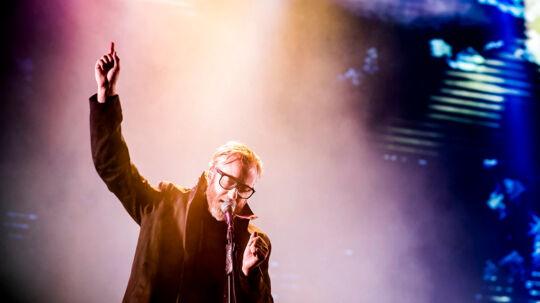 Matt Berninger, The National. (Foto: Mads Claus Rasmussen/Scanpix 2017)