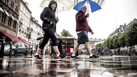 Arkivfoto. Den danske sommer har været hårdt ramt af regn, og efteråret fortsætter i samme spor.