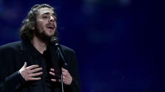 Salvador Vilar Braamcamp Sobral under årets Eurovision.