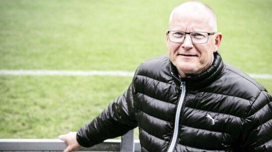 Jesper Hansen, sportsdirektør i OB, er ikke tilfreds med de forhold, som klubben bliver budt i Odense.