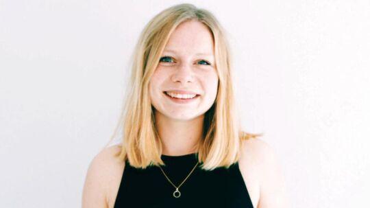 Sigrid Friis Prochowsky er landsformand for ungdomspartiet Radikal Ungdom