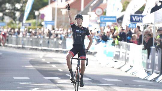 Casper Pedersen vandt første etape af Danmark Rundt.