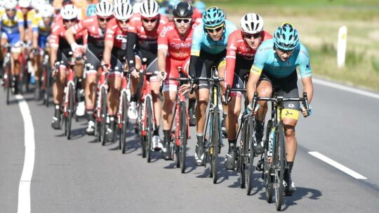 Rytterne blev lidt på afveje på første etape af Danmark Rundt.