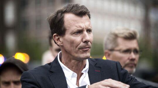 Prins Joachim fortæller, at den royale familie forsøger at håndtere prins Henriks demens efter bedste evne.