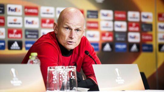 Ståle Solbakken har valgt, at William Kvist starter på bænken i torsdagens Europa League-kamp.