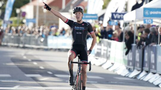 Casper Pedersen fra Giant-Castelli vandt første etape