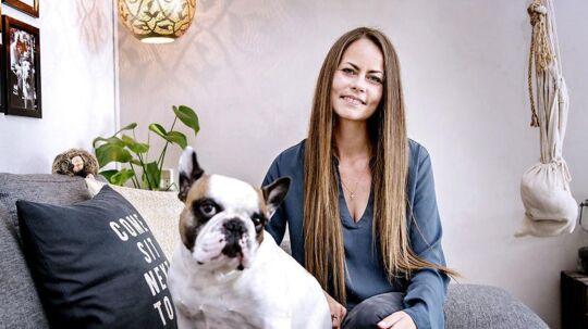 Her er det Amanda Kastrup, der er fotograferet i sit hjem i Hvidovre.