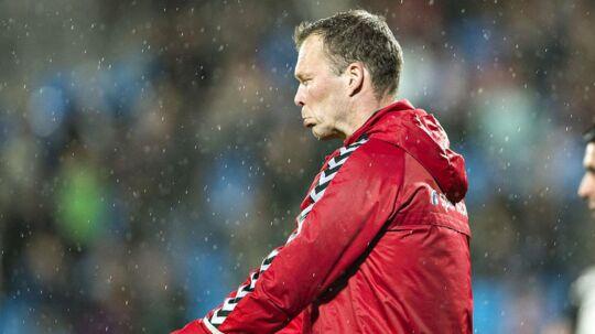 AaB-træner Morten Wieghorst