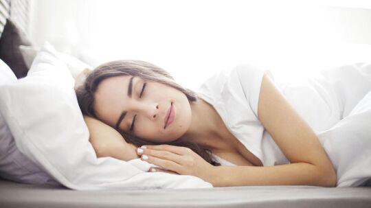 Regelmæssigt god søvn er den faktor, der vægter højst i undersøgelsen.