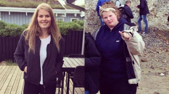 Astrid Lund Jensen har tabt sig 84 kilo på halvandet år.