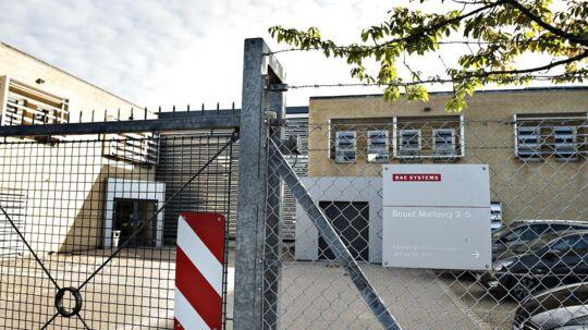 Våben- og overvågningskoncern lukker fabrik i Danmark Den engelske våben- og overvågningskoncern BAE Systems lukker fra juni næste år sin afdeling i Nørresundby. Scanpix 2017.