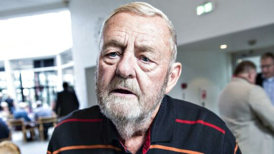 Tidligere minister Ole Løvig Simonsen mener, at DF's menneskesyn ligger for langt fra S.