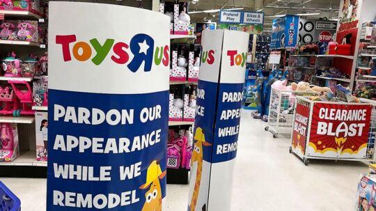 Det legendariske legetøjsfirma Toys'R'us er på vej mod en konkurs.