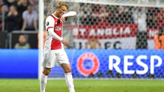 Ajax burde have solgt Kasper Dolberg, da de havde chancen i sommer, mener hollandsk chefredaktør.