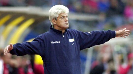 Werner Lorant som træner i 1860 München.