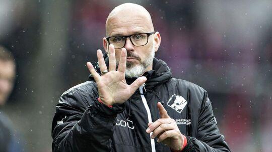Randers FC's cheftræner, Ólafur Kristjánsson
