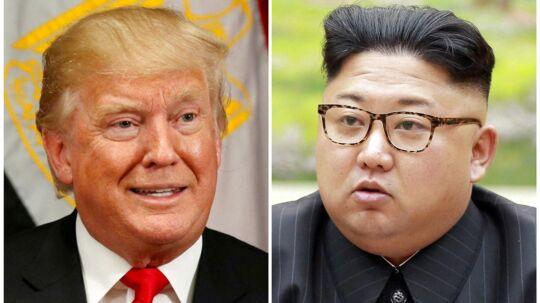 Ruslands Udenrigsminister mener, at Trump og Jung-un burde 'tage det roligt'.