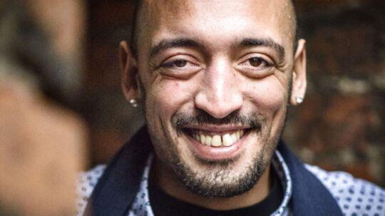 Sanger og sangskriver Wafande Pierre Jolivel Zahor kendt som Wafande.