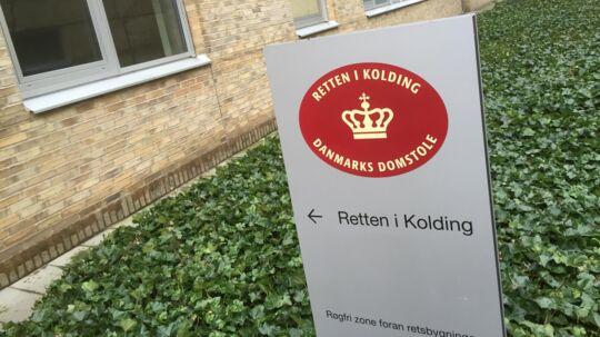Retten i Kolding indleder mandag nævningesagen mod en 25-årig mand fra Vejle, der er tiltalt for at have forvoldt sin datters død. Free/Jan Bjerre Lauridsen, Ritzau/arkiv