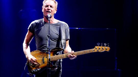 Søndag d. 24. september gav Sting koncert i Royal Arena i København.