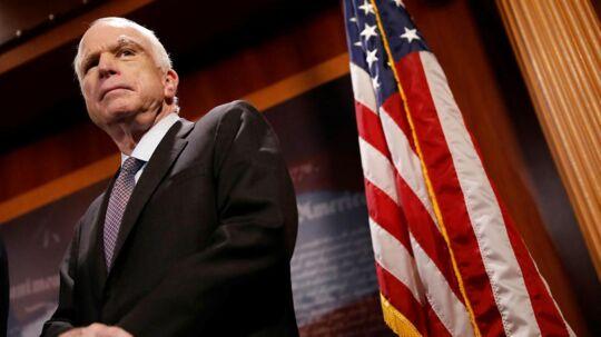 81-årige John McCain.