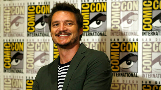"""Cast member Pedro Pascal poses at a press line for """"Kingsman: The Golden Circle"""" during the 2017 Comic-Con International Convention in San Diego, California, U.S., July 20, 2017. REUTERS/Mario Anzuoni"""
