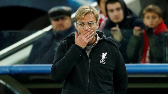 Jürgen Klopps mandskab skuffede igen.