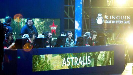 Astralis er dumpet ned af verdensranglisten, hvor de lige nu ligger nummer fem efter det danske hold North.