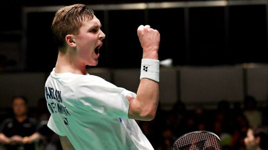 Viktor Axelsen. September 23, 2017.
