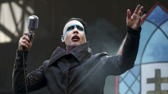 Marilyn Manson ses her optræde den 15. maj 2015.