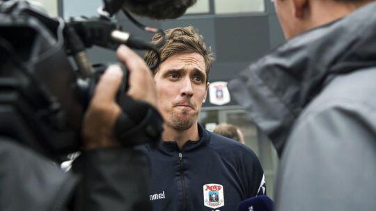 AGF-anfører Morten 'Duncan' Rasmussen (billedet) har lagt fyringen af Glen Riddersholm bag sig og ser fremad.